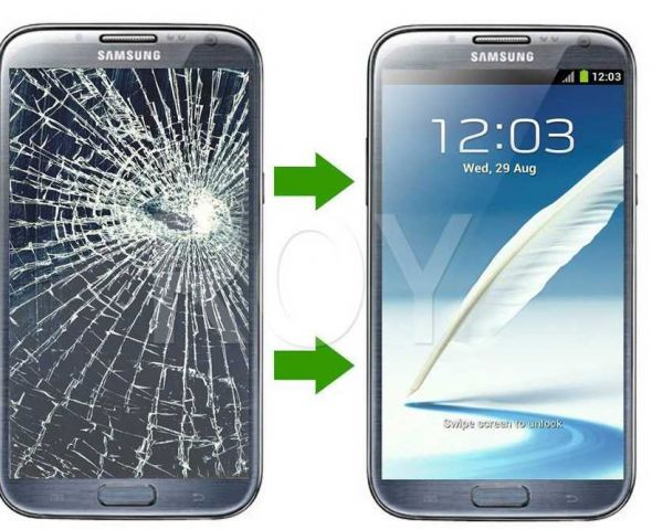 how much is it to fix a cracked samsung screen